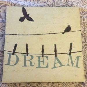 Other - Dream wall sign